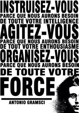 Citation de Gramsci