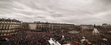 Place de la Rép' le 18-03-2017 - Photo de Stéphane Burlot