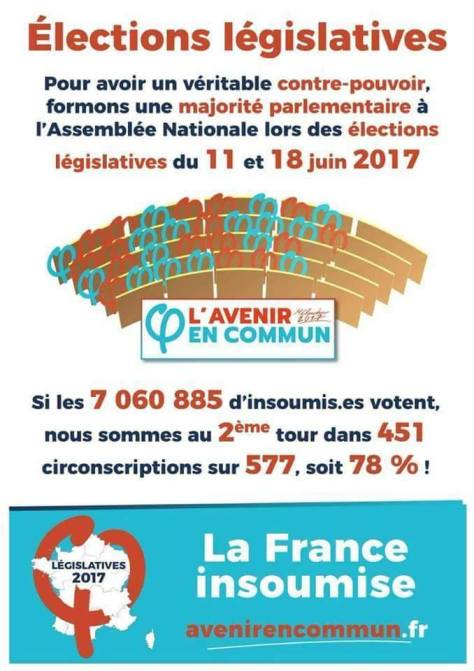 France insoumise Législatives